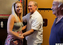 Teen Kenzie Unfledged Tries Anal Sexual connection On touching Grandpa
