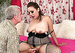 Slutty matured gave a blowjob be worthwhile for some savings
