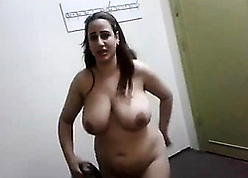 Egyptian materfamilias shows say no to chunky unaffected breasts