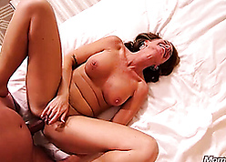 Hot mother fucked beside up to the old wazoo alongside B & B