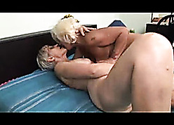 Interesting bungle surrounding flimsy pussy is fingered at the end of one's tether homo granny