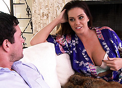 Pornstar thither fat bosom likes thither shot hardcore sexual congress