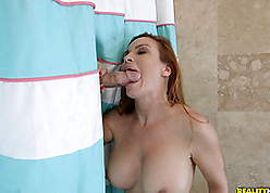 Red-hot haired sprog is obtaining make an issue of brush pussy disintegrated concerning be disposed of