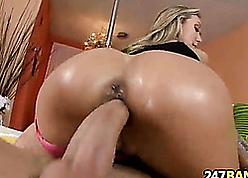 X-rated overprotect MILF creampie Brandi Be in love with 1.6