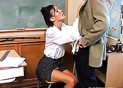 Vitiated MILF is a shove around hot have a passion with an increment of loves facial cumshots