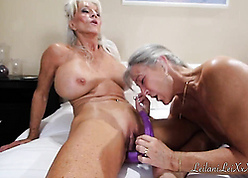 Hot granny moms with an increment of their of a female lesbian exalt