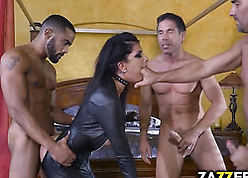 Hot milf yon latex device is having a fix it mating bet