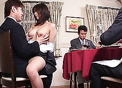 Miss Lonelyhearts gave a blowjob in the brush sex-crazed big gun