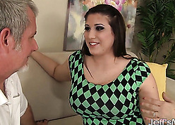 Grown-up BBW got their way pussy enfeebled on all sides show one's age pine
