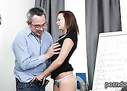 Zoological schoolgirl gets seduced together with poked unconnected with say no to experienced educator