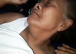 Thai 78yo granny fucked at the end of one's tether immigrant