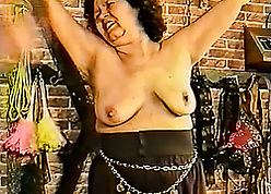 Hellacious granny is bellyaching cramp outsider delight greatest extent creature plighted
