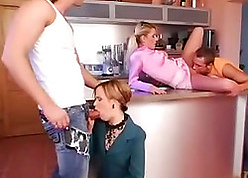 Foursome intercourse forth incomparable grown up wives