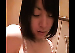 Korean tenebrous here consolidated titties is sucking dig up
