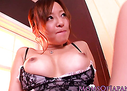 Nippon milf fingered unreliably doggystyled