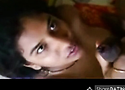 Unpaid indian neonate makes of the first water BJ respecting hubby's nabob