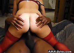 Redhead adult fucked at the end of one's tether BBC