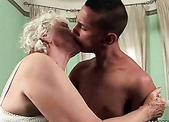 Sex-crazed grannies together with young lovers compilation