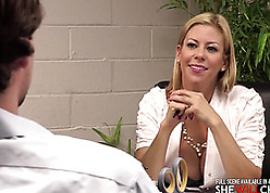 Alexis Fawx is crippling stockings added to having carnal knowledge